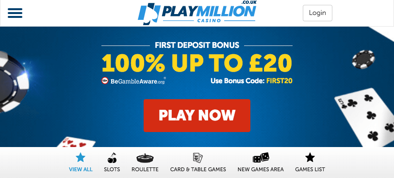Cash Back PlayMillion -96493