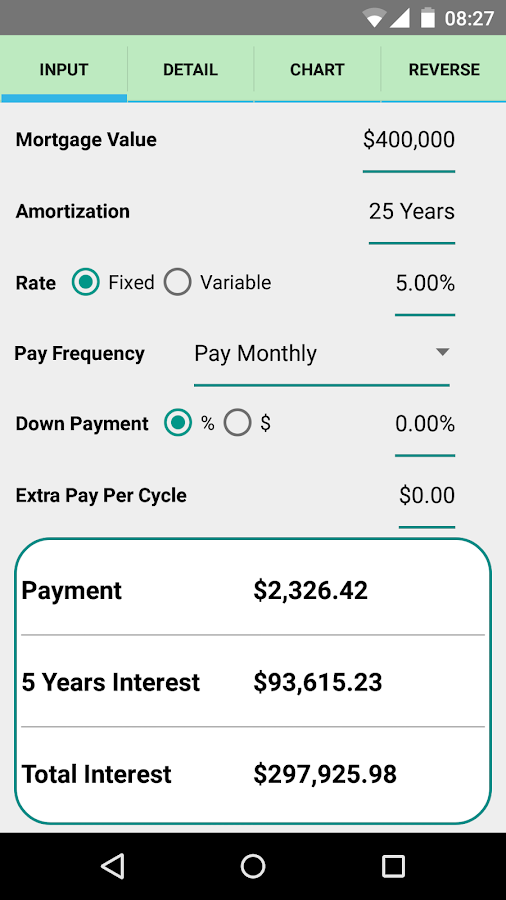 Simple Interest Calculator -95356
