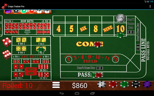 Come Bet Strategy -56650