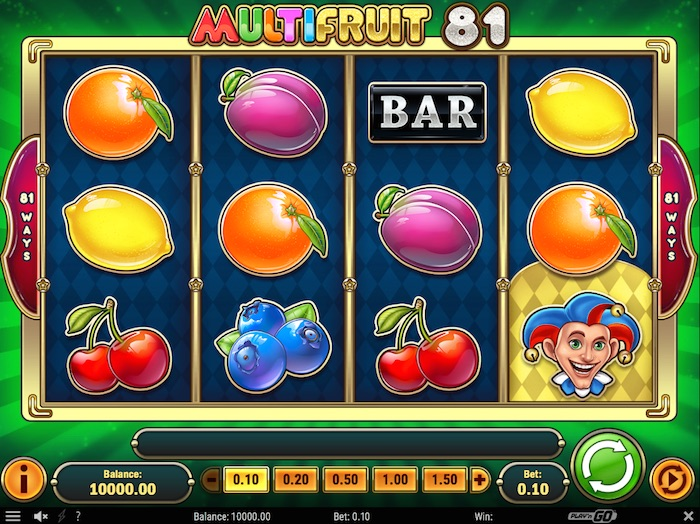 Multifruit 81 Slot -85914