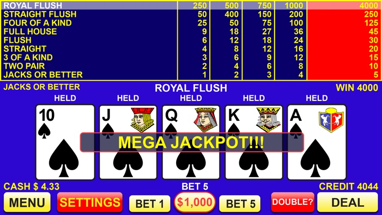 Video Poker Pay -63094