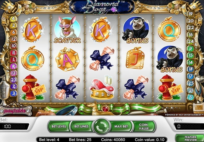 Diamond Dogs Slot -62416