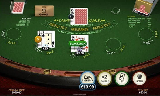 Cash Back PlayMillion -77185