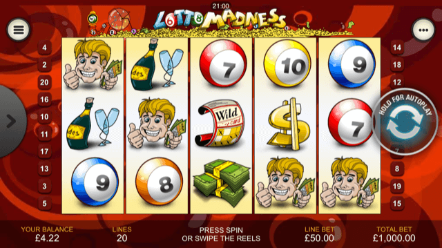 Lotto Madness -43181