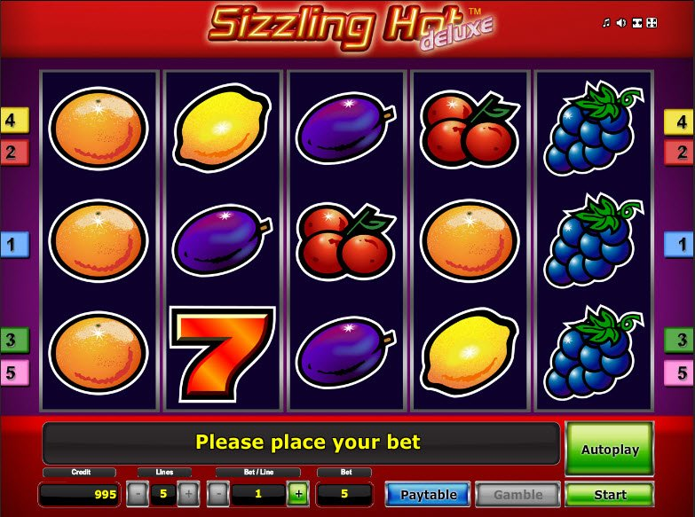 Sizzling Spins Slot -96573